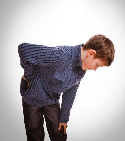 Πόνος στην πλάτη στα παιδιά